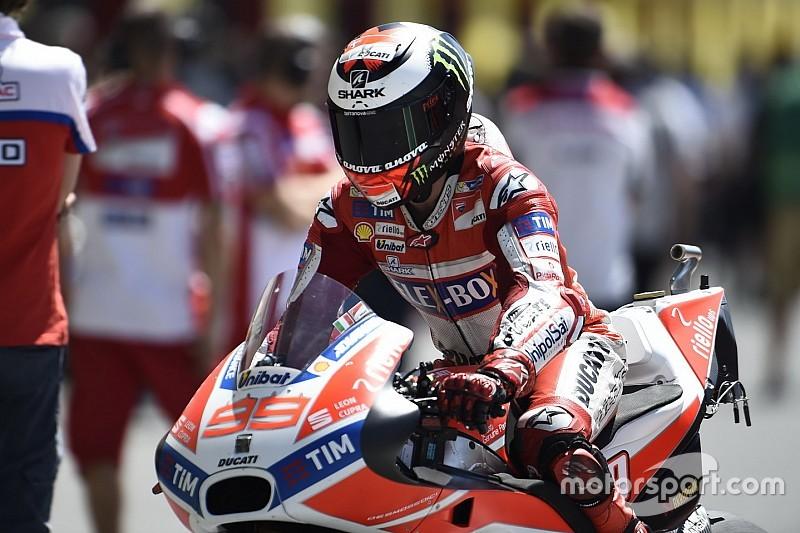 Lorenzo tak ingin hanya sekadar podium