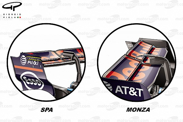 F1 Análisis técnico: así afrontaron los equipos la baja carga de Monza