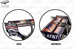 Les configurations aéro qui ont fait la différence à Monza