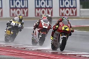 Moto2 Actualités Pluie et malchance mettent KO le Forward Racing à Misano!