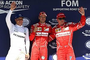 F1 Reporte de calificación Pole de Vettel en un 1-2 de Ferrari en Hungría
