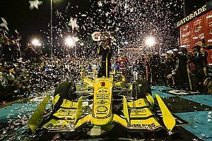 【インディカー】オーバル初優勝の王者パジェノー「人生最高の勝利だ」