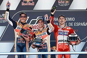 【MotoGP】スペインGP決勝:ペドロサ優勝ホンダ1-2。ヤマハ苦戦