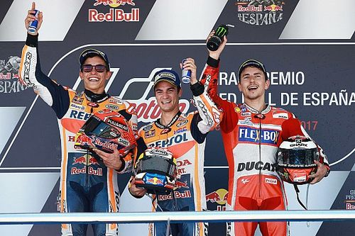 Pedrosa domineert in Jerez en wint de 3000e Grand Prix in historie