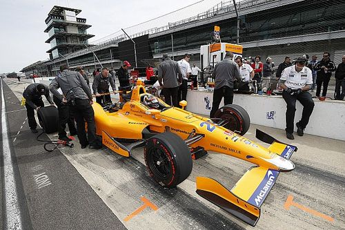 Alonso completes opening phases of Indy ROP test