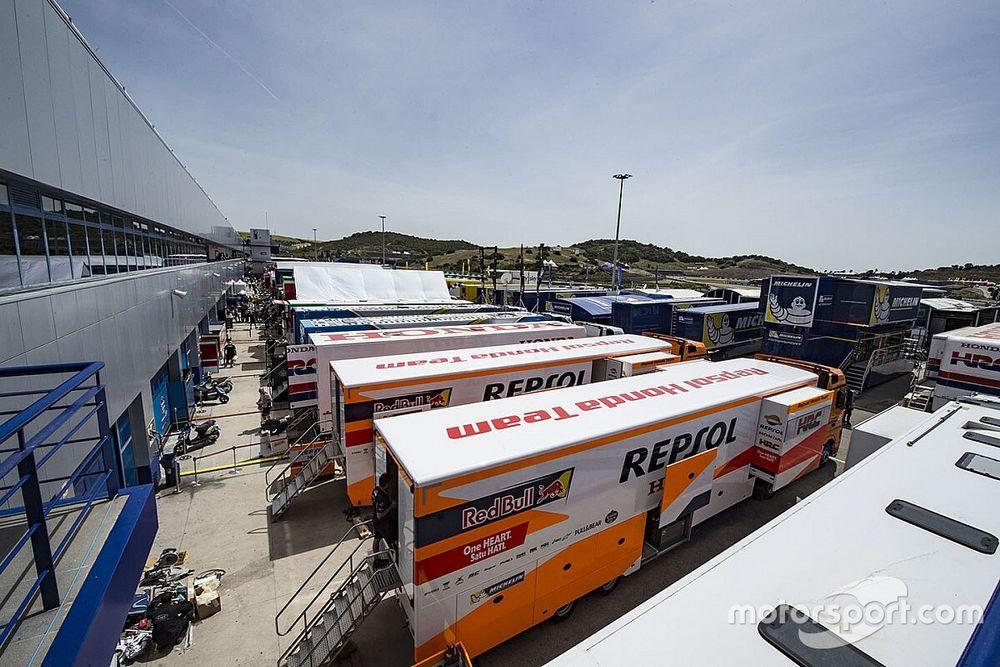 MotoGP: il protocollo anti-COVID per le gare di Jerez
