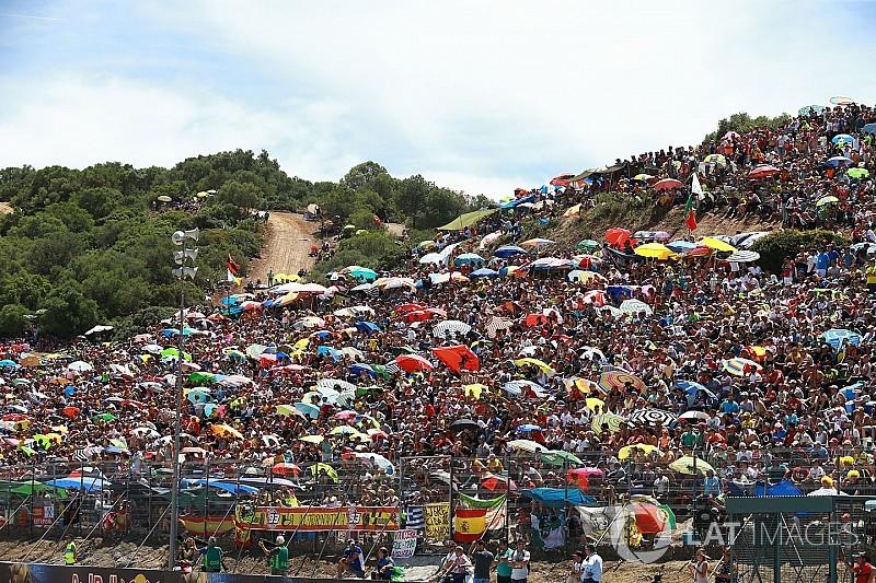 Circuito Jerez : El circuito de jerez dedica a Ángel nieto una tribuna del gp de españa