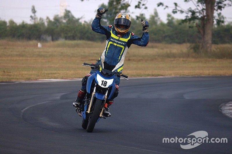 Chennai III TVS Apache 200: Kannan beats Ganesh to clinch title in finale