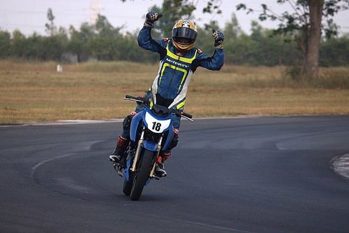 Chennai III TVS Apache 200: Kannan beats Ganesh to clinch title in finale
