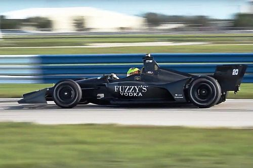 Video: De nieuwe IndyCar-bolide in actie tijdens test op Sebring