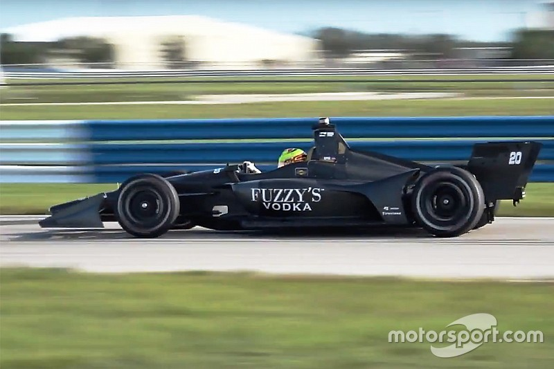 Servia, 2018 IndyCar araçlarına hayran kaldı