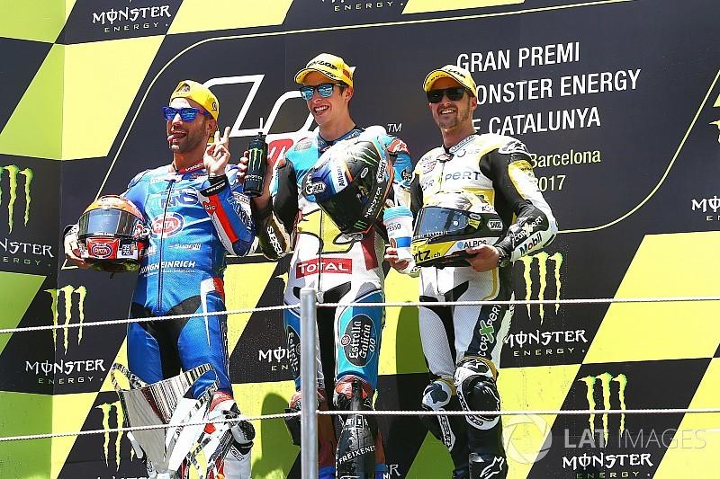 Mattia Pasini se voit retirer sa 2e place de Barcelone