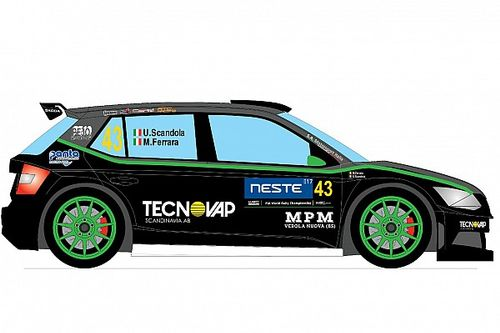 Scandola svela la livrea della Fabia R5 per il Rally di Finlandia
