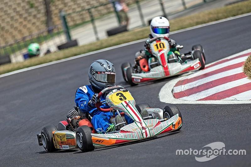 Karting şampiyonası Tuzla'daki yeni pistteydi