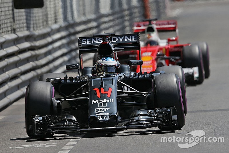 McLaren-Honda inside the qualifying top 10 with Alonso at Monaco