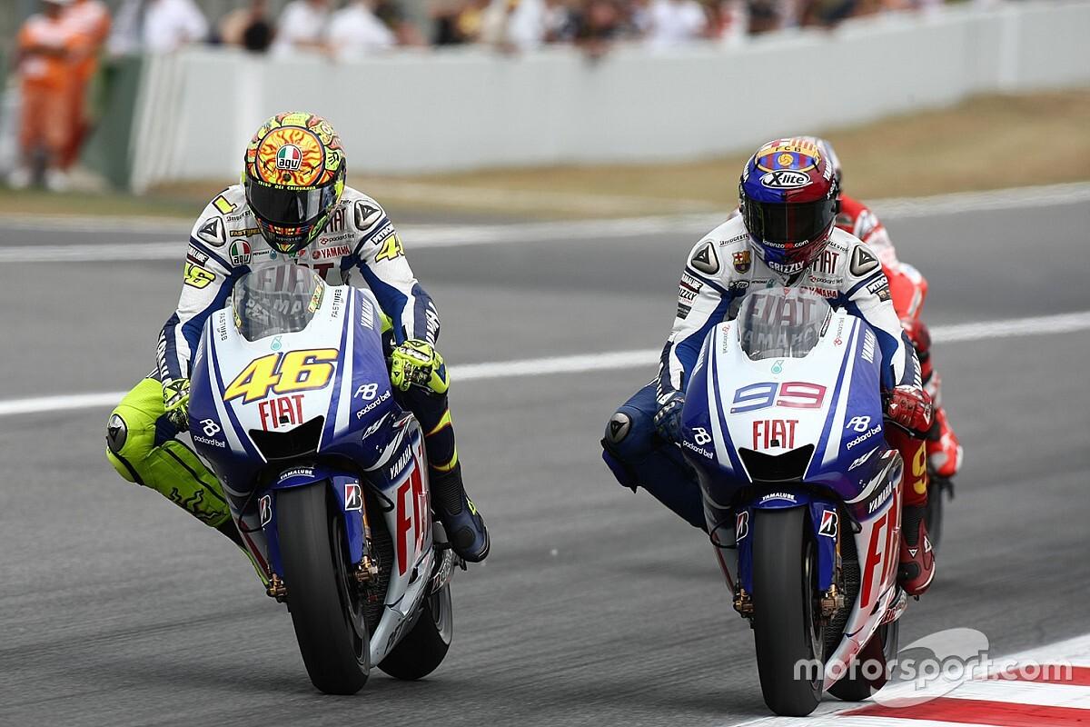 C'était un 14 juin: le duel magistral entre Rossi et Lorenzo à Barcelone