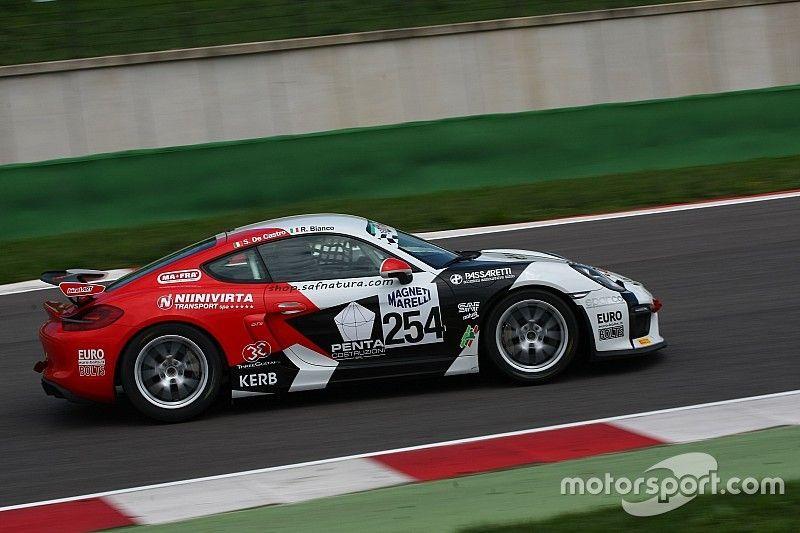 Cayman GT4 Trophy: Bianco-De Castro e Pera a segno a Misano