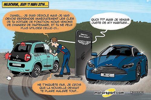 L'humeur de Cirebox - Red Bull et Aston Martin s'allient !