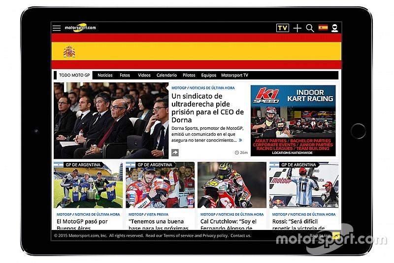 Motorsport.com запустив нову цифрову платформу в Іспанії