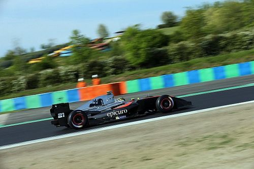 Hungaroring F3.5: Cecotto inherits maiden victory after mistakes from rivals