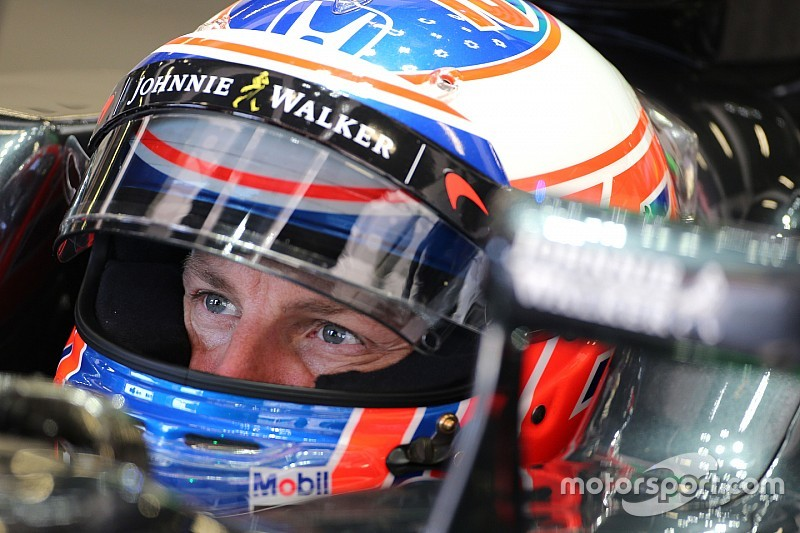"McLaren's Button says excitement over Q3 berth ""quite sad"""