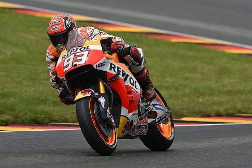 Marquez's winning MotoGP bike rebuilt in under two hours