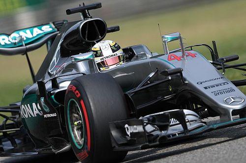 Italian GP: Hamilton sets blistering pace in FP3