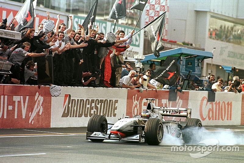Gallery: All of Mika Hakkinen's F1 wins