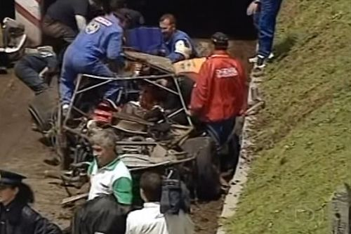 Salles relembra grave acidente na Argentina dez anos depois