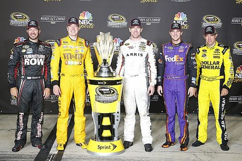 Truex named the pre-Chase favorite by Kyle Busch