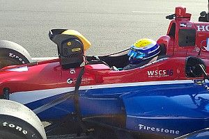Urrutia impressed with first taste of IndyCar