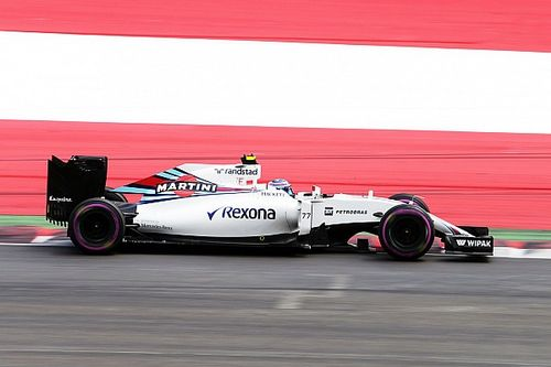 Bottas qualified eighth and Massa 10th for the Austrian GP
