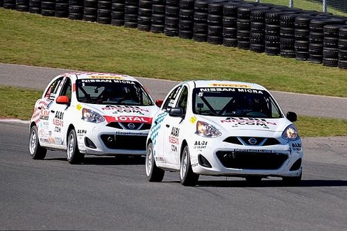 Coupal wins race 2 and clinches title of the Micra Cup