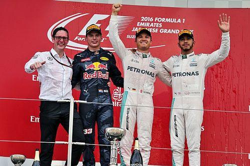 Japanese GP: Rosberg dominates as bad start thwarts Hamilton