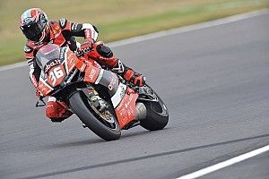 Mercado lideró los entrenamientos en Jerez