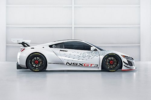 Gallery: New Acura NSX GT3 twin-turbocharged racer
