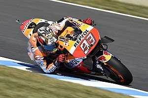 "Marquez targets ""podium, not victory"" in Japanese GP"