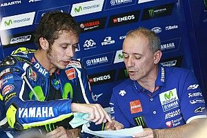 Rossi splits with rider coach Cadalora