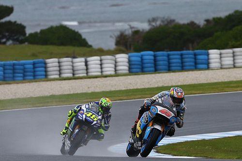 Australian MotoGP: Rain cuts second practice short
