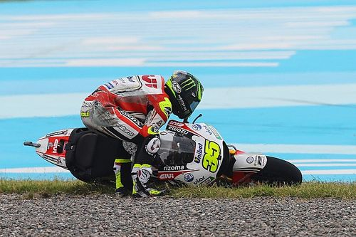 "Crutchlow: ""No excuses"" for crashing twice in Argentina"