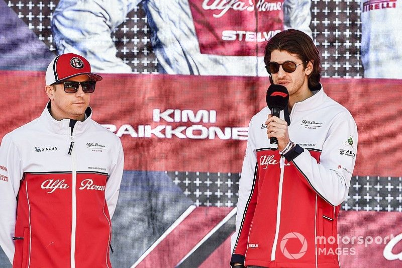 Raikkonen match-up reminds Giovinazzi of final F3 season