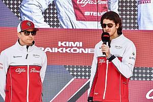 Affronter Räikkönen rappelle à Giovinazzi sa saison 2015 de F3