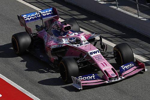 Félig új, félig régi a Racing Point 2019-es kocsija, az RP19