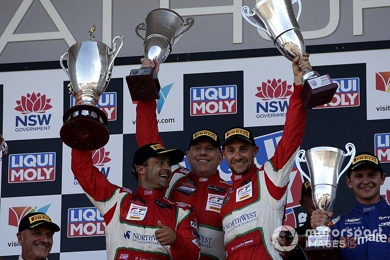 Bathurst, trionfo in Classe Pro-Am per Lamy-Lauda-Dalla Lana con la Ferrari di Spirit of Race