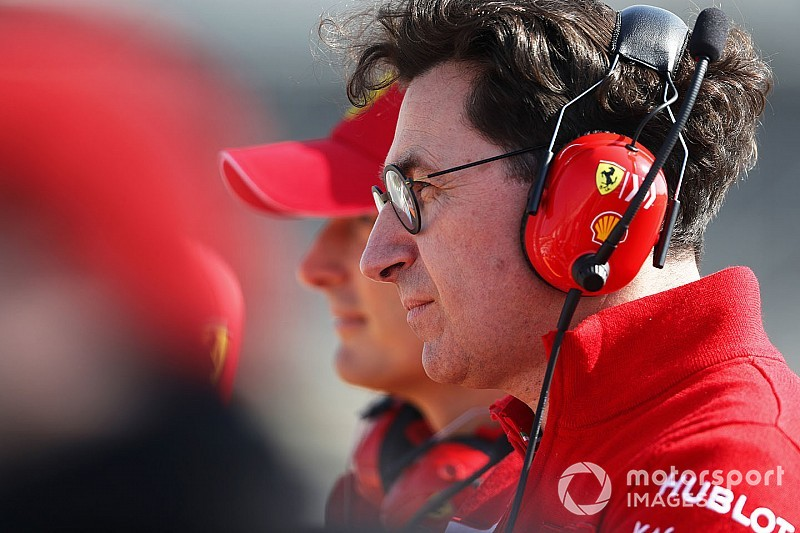 Binotto: Completely wrong to think Ferrari's ahead