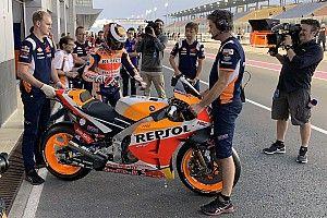 Лоренсо признал сложности в управлении мотоциклом Honda