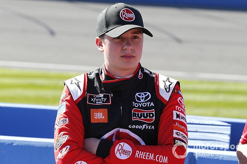 """Christopher Bell doesn't see """"a hole"""" at JGR to move to Cup"""