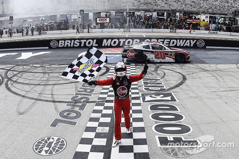 Christopher Bell takes Bristol Xfinity win and $100,000 bonus