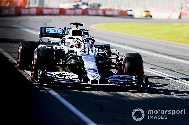 Хэмилтон показал лучшее время в третьей тренировке подряд на Гран При Австралии