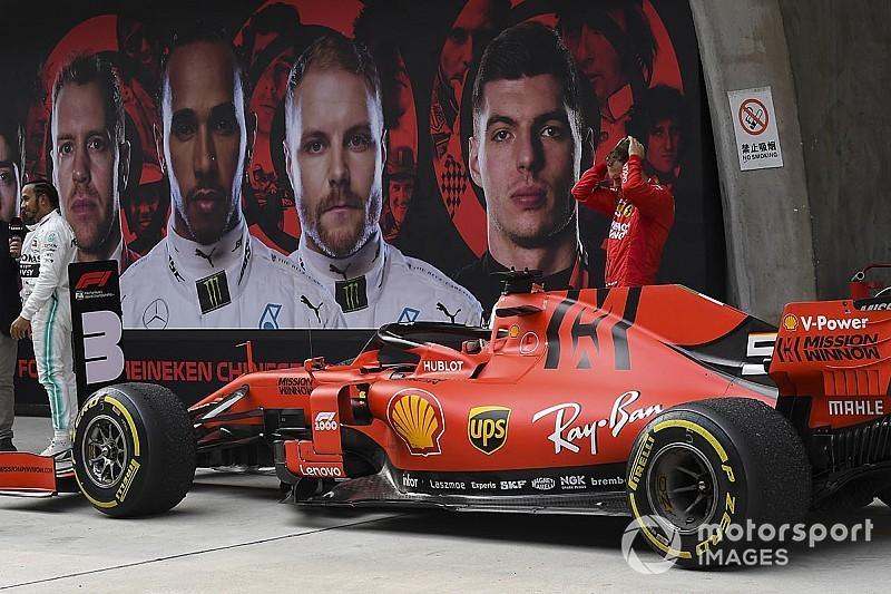 Vettel és a vasárnap képekben a Kínai Nagydíjról: ismét csak egy dobogó
